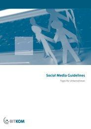 Social Media Guidelines - Deutschland sicher im Netz