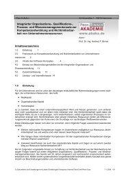 Integrierter Organisations-, Qualifikations-, Prozess ... - Org-Portal.org