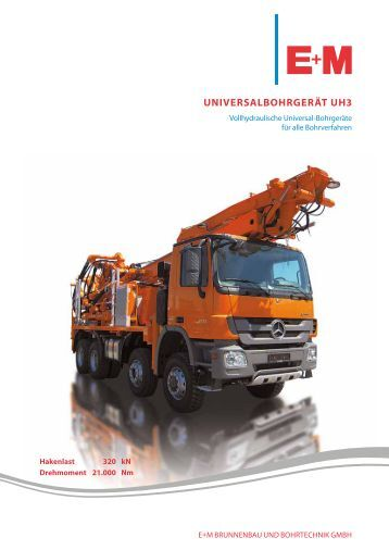 UNiVerSALBOHrGeräT UH3 - em-bohr.de