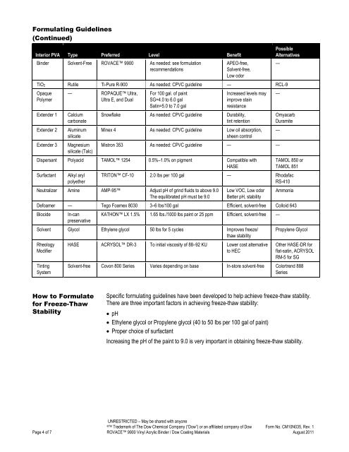 Formulating Guidelines (C