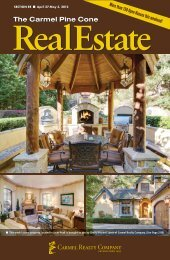 To download the April 27, 2012, Real Estate - The Carmel Pine Cone