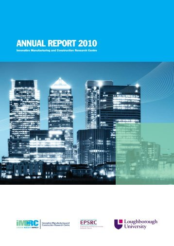 ANNUAL REPORT 2010 - Loughborough University