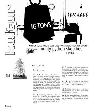 monty python sketches - soma