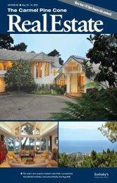 Carmel Pine Cone, May 25, 2012 (real estate) - The Carmel Pine ...
