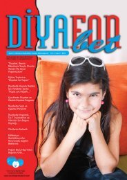 Dergiyi indirmek için tıkla (pdf) - Arkadaşım Diyabet