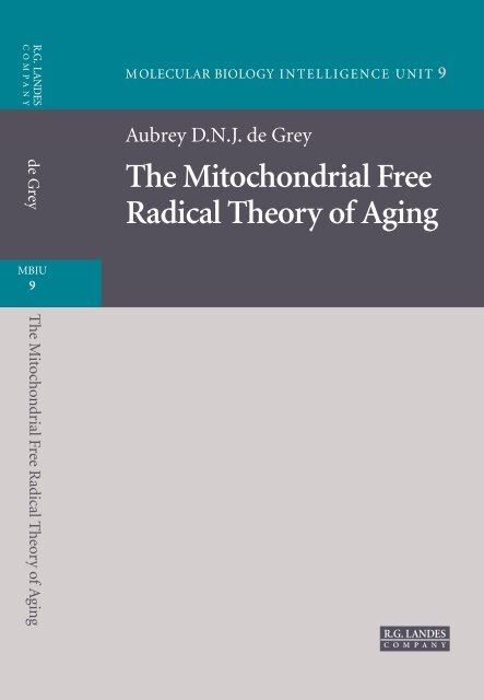 The Mitochondrial Free Radical Theory Of Aging Supernova Pliki