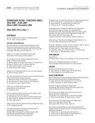 NDEK‹LER D‹Z‹N‹ - Anadolu Kardiyoloji Dergisi