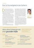 Aktives Training für die Hüftgelenke - Regensburger ... - Page 7