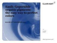 ED pigments