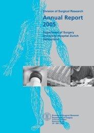 Annual Report 2005 - Klinik für Herz- und Gefässchirurgie ...
