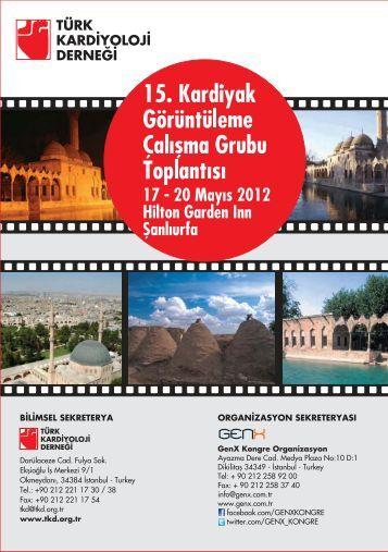 15. Kardiyak Görüntüleme Çalışma Grubu - Türk Kardiyoloji Derneği