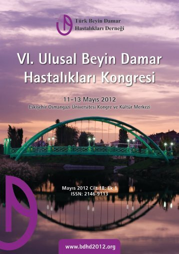 VI. Ulusal Beyin Damar Hastalıkları Kongresi - türk beyin damar ...