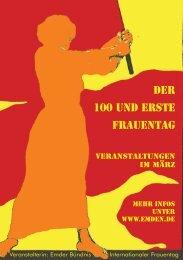 Veranstalterin: Emder Bündnis Internationaler ... - Stadt Emden