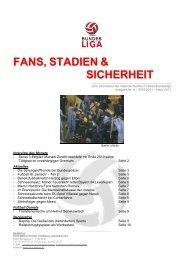 FANS, STADIEN & SICHERHEIT - SecureLINE