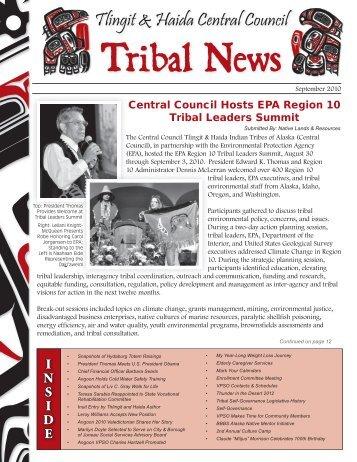I N S I D E - Central Council Tlingit Haida Indian Tribes of Alaska