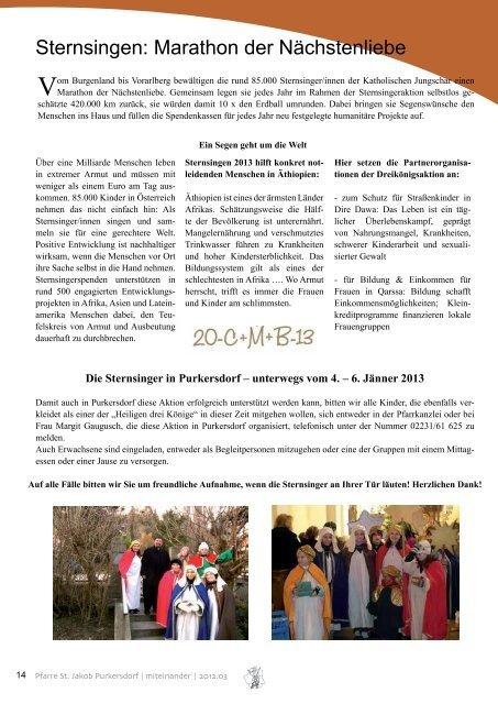 Trag was bei - Über den Kirchenbeitrag | Seite 5 Die heiligen drei ...