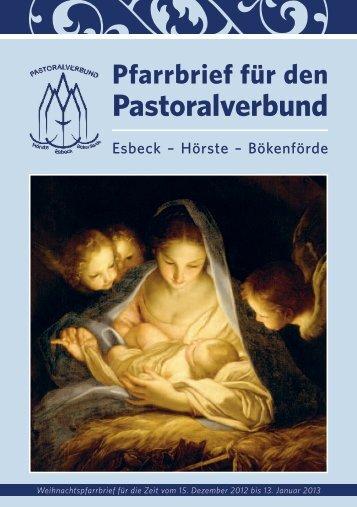 Der komplette Weihnachtspfarrbrief als PDF-Datei ... - in Bökenförde