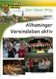Der Neue Weg - ÖVP Allhaming