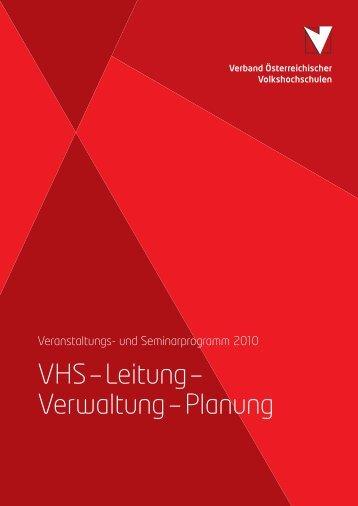 VHS–Leitung– Verwaltung–Planung