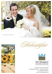 Hochzeitsmappe 12/13 - Herzlich Willkommen im Drei Königshof