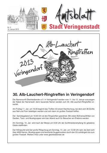 Amtsblatt KW 02 - Veringenstadt