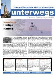 PDF-Version - Pfarre Stockerau