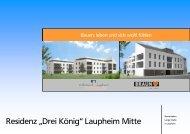 """Residenz """"Drei König"""" Laupheim Mitte - Volksbank Laupheim eG"""
