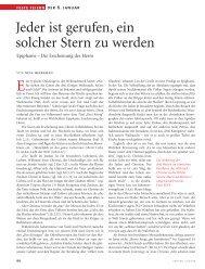 lesen - Vatican magazin