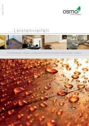 ...Leistenvielfalt wood color - Osmo