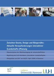 Zwischen Gesetz, Design und Bürgernähe: Aktuelle - Institut für ...