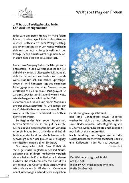 Pfarrbrief Weihnachten 2007 hl. Dreikönige und St. Pius - Kath ...