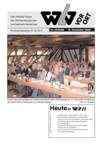 info@wlv-sport.de - Württembergischer Leichtathletikverband