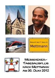 Mettmann - Messdiener Hl. Dreikönige, Neuss