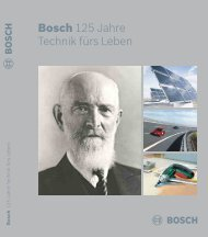 Bosch 125 Jahre Technik fürs Leben