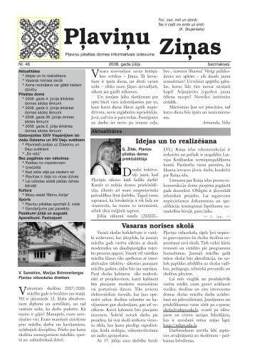 Pļaviņu Ziņas - Aizkraukles rajona padome