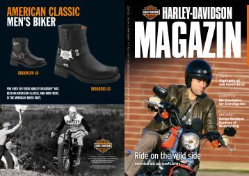 Ride on the wild side - Harley-News