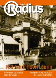 + Insert: 100 Jahre Hotel Laurin - Mediaradius