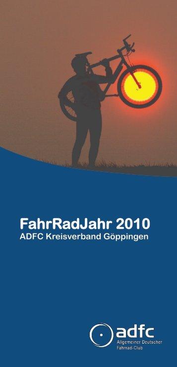 FahrRadJahr 2010 - ADFC