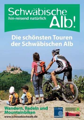 Die schönsten Touren der Schwäbischen Alb - Toubiz