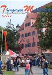 Ausgabe 01/2011 - Markt Unterthingau