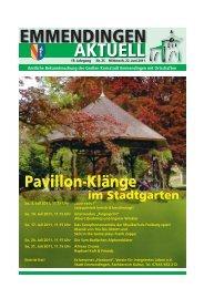 EMMENDINGEN AKTUELL - Stadt Emmendingen