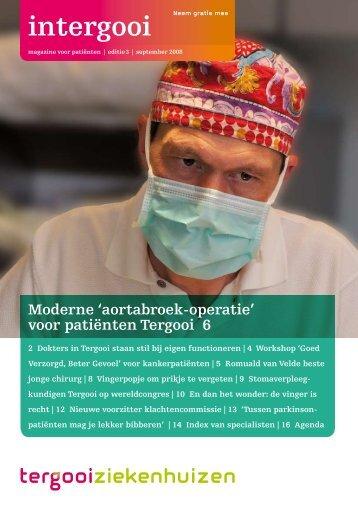 editie 3   september 2008 - Tergooiziekenhuizen