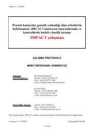 IMPACT çalışması (Prostat kanserine genetik yatkınlığı olan