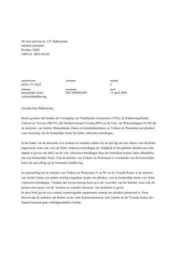 Balkenende moet knoop doorhakken in discussie bestuurlijke boete
