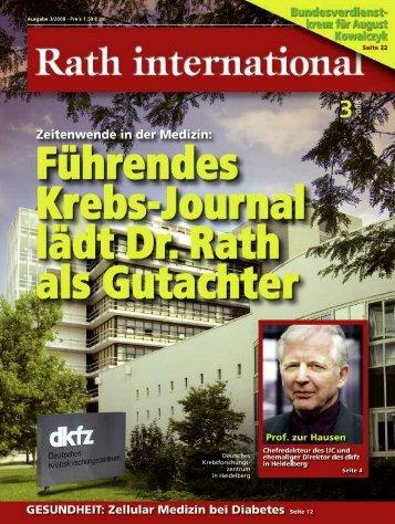 Rath international 03_2008 - Dr. Rath Gesundheits-Allianz