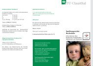 Familiengerechte Hochschule - Familien an der TU Clausthal