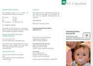 Flyer Familie_aussen - Familien an der TU Clausthal