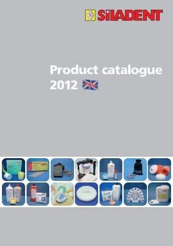 Product catalogue 2012 - SILADENT Dr. Böhme & Schöps GmbH