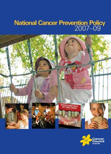 National Cancer Prevention Policy - Tobacco Control Supersite