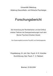 5_nb_Forschungsbericht_uni_ol.pdf - Gesundheitsamt Bremen